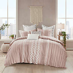 INK+IVY Imani 3-Piece Full/Queen Duvet Cover Set in Blush