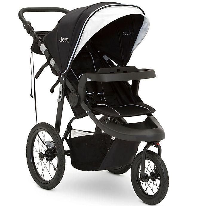 Alternate image 1 for Delta Children Jeep® Hydro Sport Plus Jogger Stroller in Black