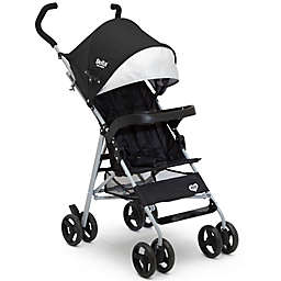 Delta Children 365 Lightweight Single Stroller in Black