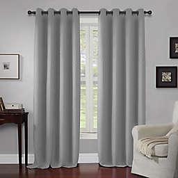 Wyndham 63-Inch Grommet Window Curtain Panel in Grey (Single)