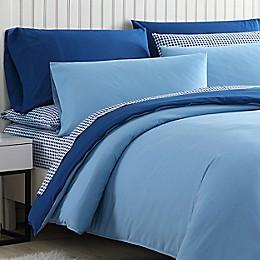 Poppy & Fritz®  Audrey Solid Reversible Duvet Cover Bonus Set in Blue