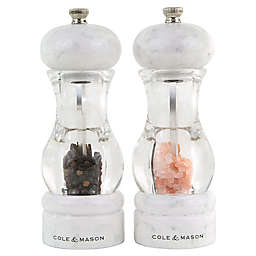 Cole & Mason 105 Marble 2-Piece Salt and Pepper Mill Gift Set