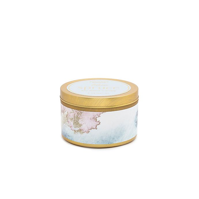 Alternate image 1 for Foundry Candle Co. Blue Spruce 5 oz. Gold Grab Tin Candle