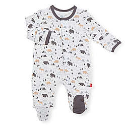 Magnetic Me® by Magnificent Baby Tiny Tundra Magnetic Footie