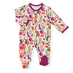 Magnetic Me® by Magnificent Baby Homegrown Footie in Purple