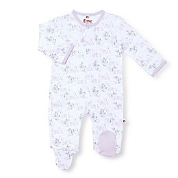 E=MC2 Swan Song Magnetic Footie in White