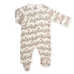 E=MC2 Lil Fox Magnetic Footie in White