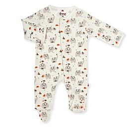 E=MC2 Playtime Elephants Magnetic Footie in White