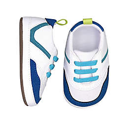 On the Goldbug™ Low-Top Athletic Sneaker in White/Blue