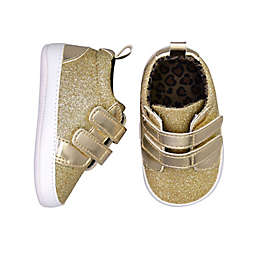 On the Goldbug™ Sparkle Low Top Sneakers in Gold
