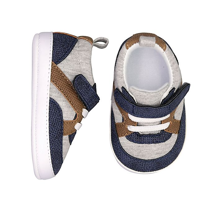 Alternate image 1 for On the Goldbug™ Colorblock Low Top Sneaker in Blue/Tan