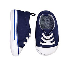 On the Goldbug™ Low-Top Lace Canvas Sneaker in Navy
