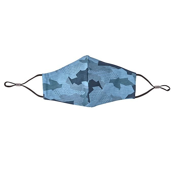 Alternate image 1 for London Luxury® 2-Pack Adult Fabric Face Masks in Blue Camo