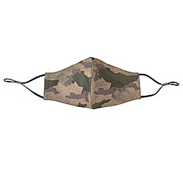 London Luxury® 2-Pack Adult Fabric Face Masks in Camo