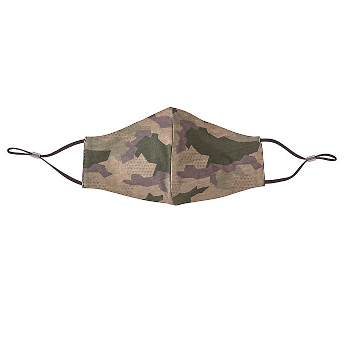 Alternate image 1 for London Luxury® 2-Pack Adult Fabric Face Masks in Camo