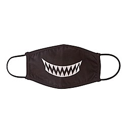 London Luxury® 2-Pack Kids' Smile Fabric Face Masks in Black