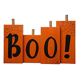 "Glitzhome 20-Inch Halloween ""Boo"" Indoor Standing Decor"