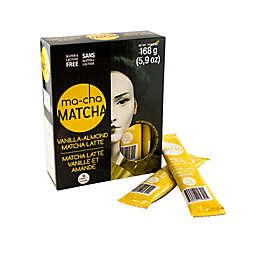 Ma-Cha Matcha Vanilla Almond Matcha Latte Tea Sachets 12-Count