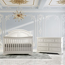 evolur Signature Belle Nursery Furniture Collection in White