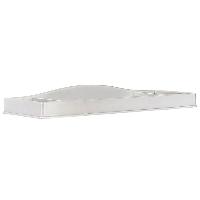 Alternate image 1 for évolur Signature Glam Changing Tray in Silver/Pearl