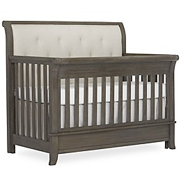 évolur Amsterdam 4-in-1 Convertible Crib in Brushed Grey