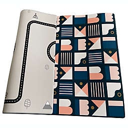 Little Bot Large Zen Line/Oracle Ofie Reversible Playmat in Grey