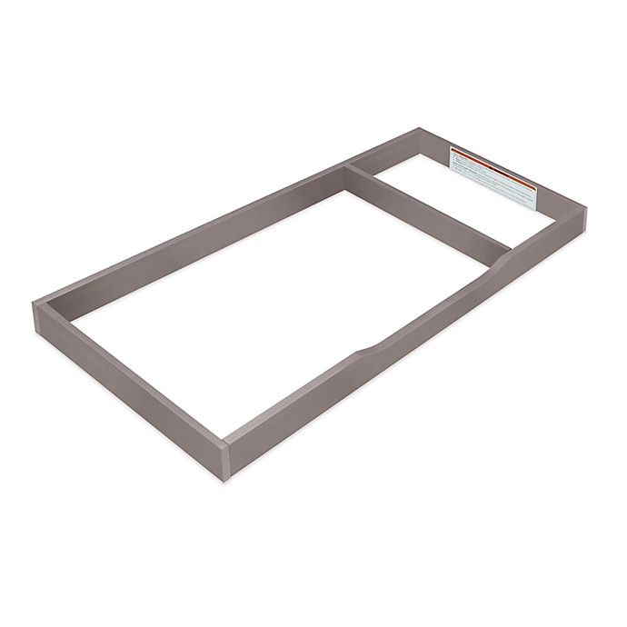 Alternate image 1 for Sorelle Universal Changing Topper in Grey