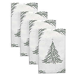 Silver Forest Napkins (Set of 4)