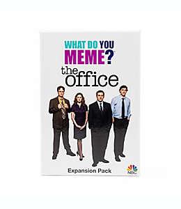 Juego de mesa What Do You Meme? Paquete de expansión The Office