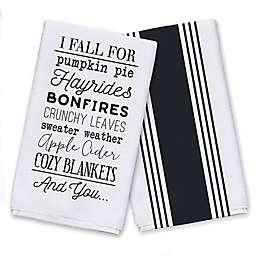 Fall for Autumn Things Tea Towel Set