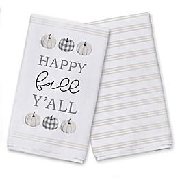 Happy Fall Yall Tea Towel Set