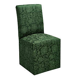 Holiday Medley Christmas Dining Chair Cover in Green