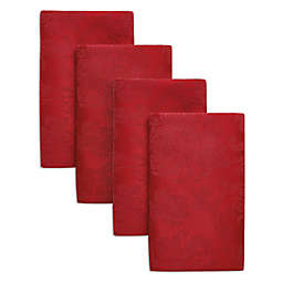 Holiday Medley Christmas Napkins in Red (Set of 4)