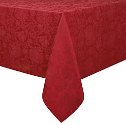 Holiday Medley 60-Inch x 144-Inch Christmas Tablecloth in Red