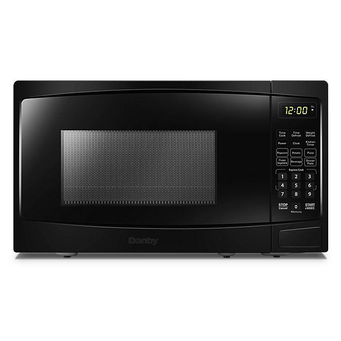 Alternate image 1 for Danby 0.7 cu. ft. Microwave Oven in Black