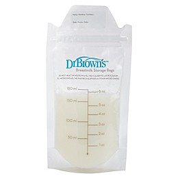 Dr. Brown's® 100-Count Breastmilk Storage Bags