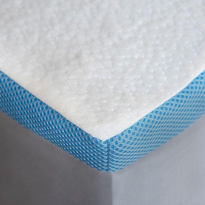 Alternate image 1 for Beyond Comfort 1.5-Inch Cooling Memory Foam Mattress Topper