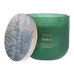Heirloom Home™ Tree Farm 14 oz. Glass Jar Candle
