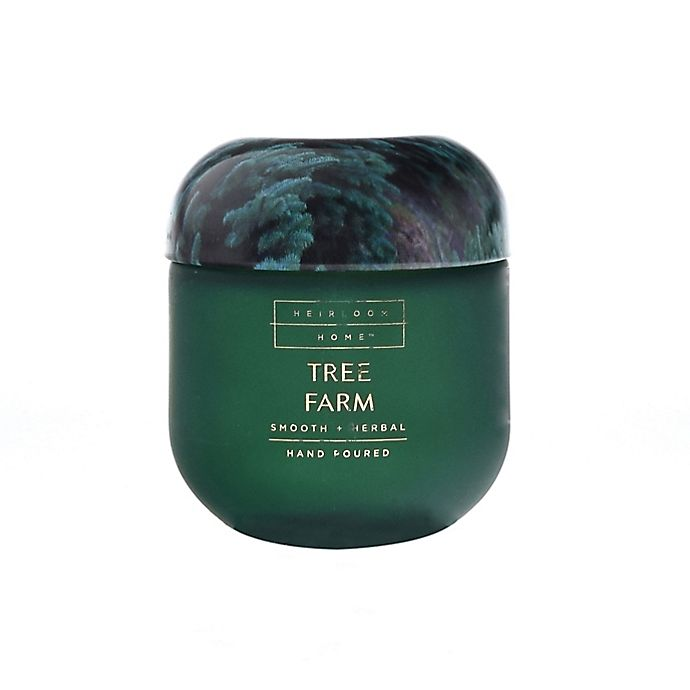 Alternate image 1 for Heirloom Home™ Tree Farm 4 oz. Glass Jar Candle