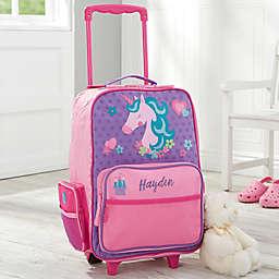 Unicorn Kids Rolling Luggage by Stephen Joseph in Pink