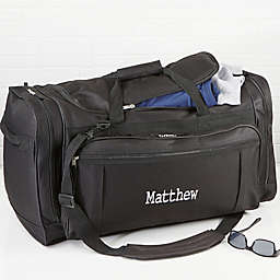Deluxe Weekender EMB Duffel Bag