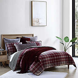 UGG® Beacon 3-Piece Comforter Set in Cabernet Plaid
