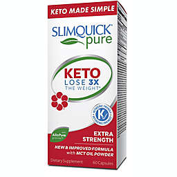 SlimQuick Pure 60-Count Extra Strength Weight Loss for Women Caplets