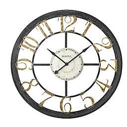 Bulova Nadya 46-Inch Round Wall Clock