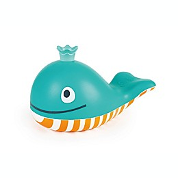 Hape Bubble Blowing Whale Bath Toy in Blue/Orange