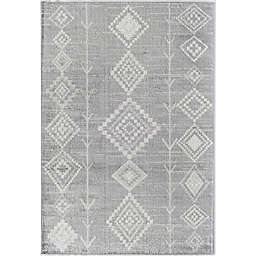 CosmoLiving Bodrum Native Area Rug in Driftwood Grey