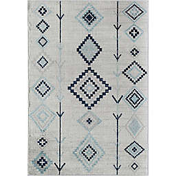 CosmoLiving Bodrum Native Area Rug in Ivory