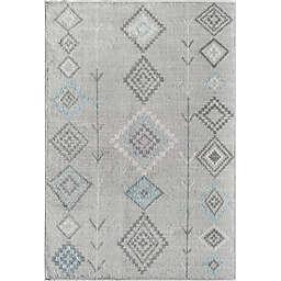 CosmoLiving Bodrum Native Area Rug in Grey/Multicolor
