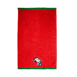 Peanuts™ Be Merry Hand Towel in Red