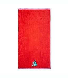 Toalla de medio baño Disney® Fa La La color rojo